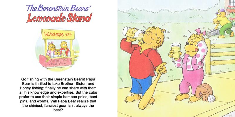 berenstain bears homework