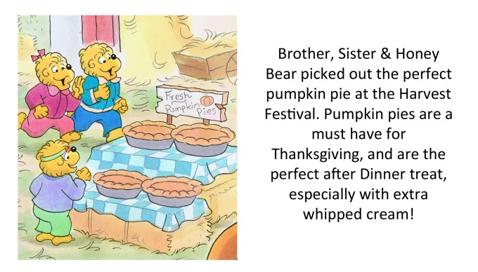 pumpkin pies words