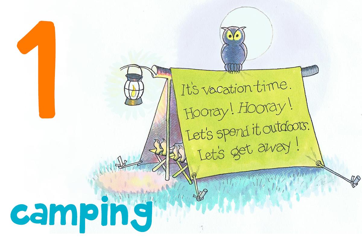 1. camping