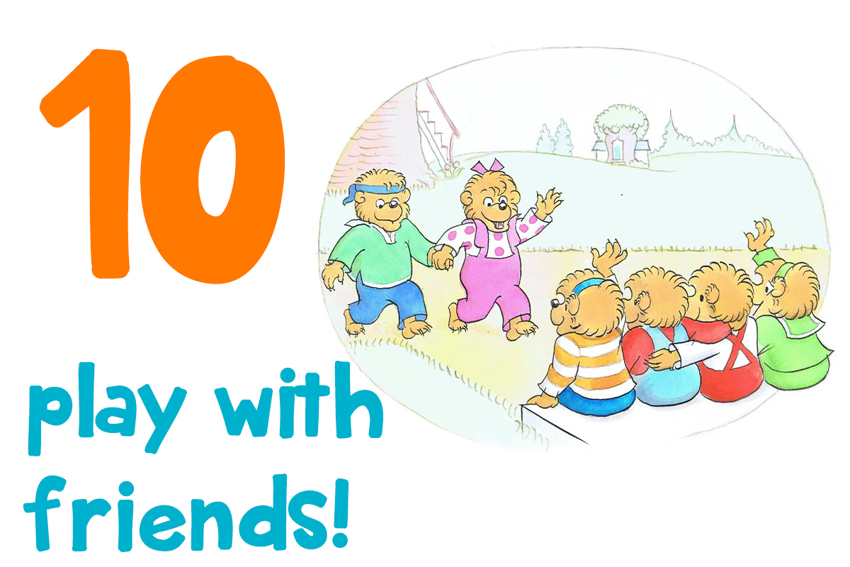 10. play with friends!