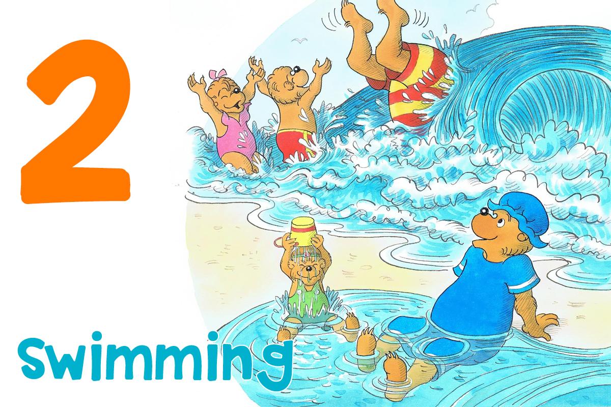 2. Swimming
