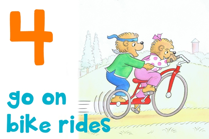 4 bike rides
