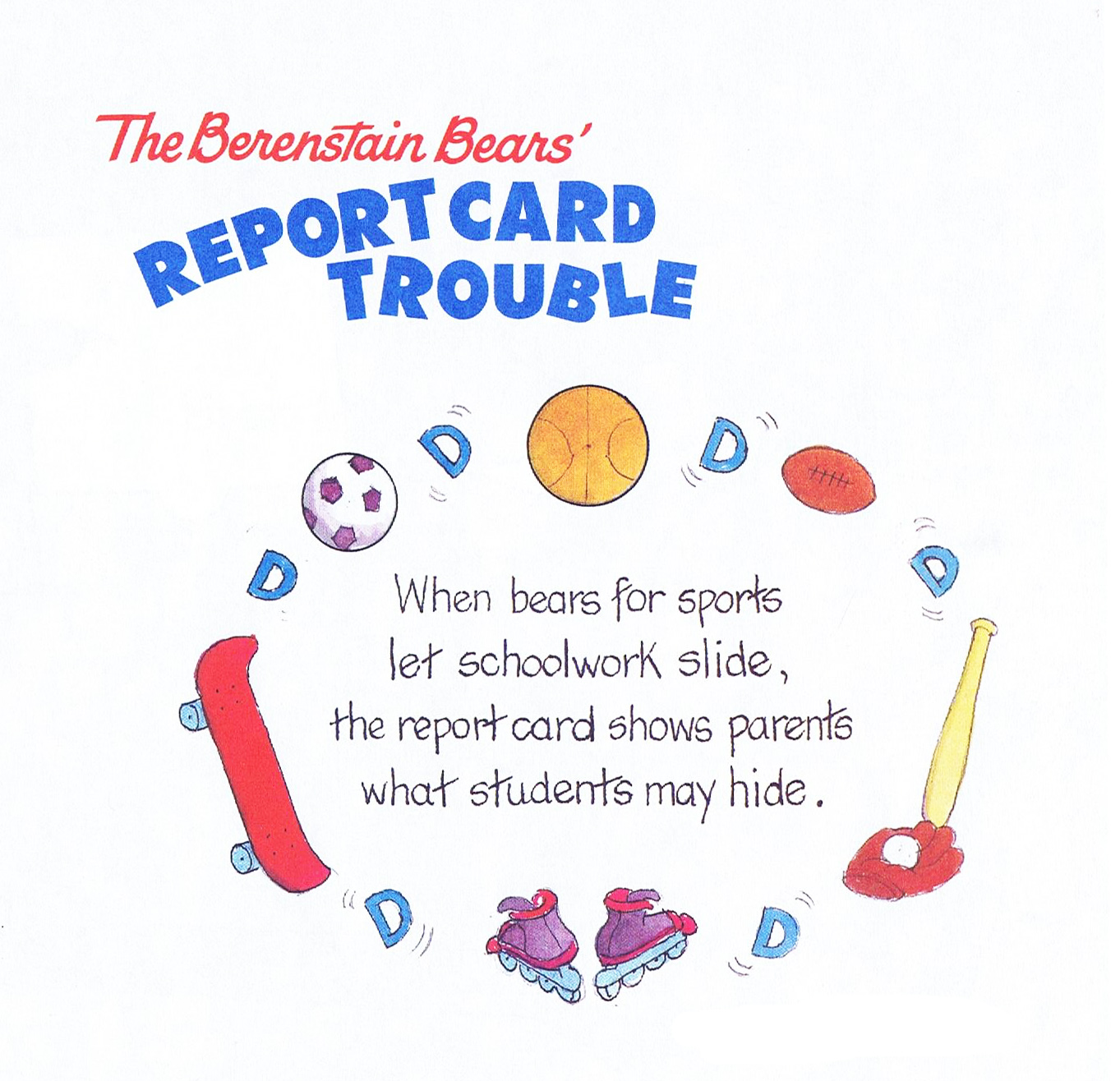Report Card Trouble