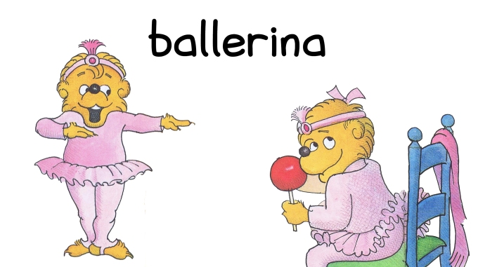 Berenstain Halloween Costumes ballerina