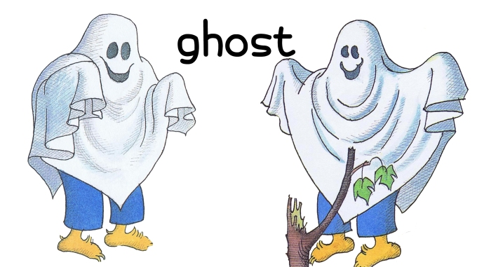 Berenstain Halloween Costumes ghost