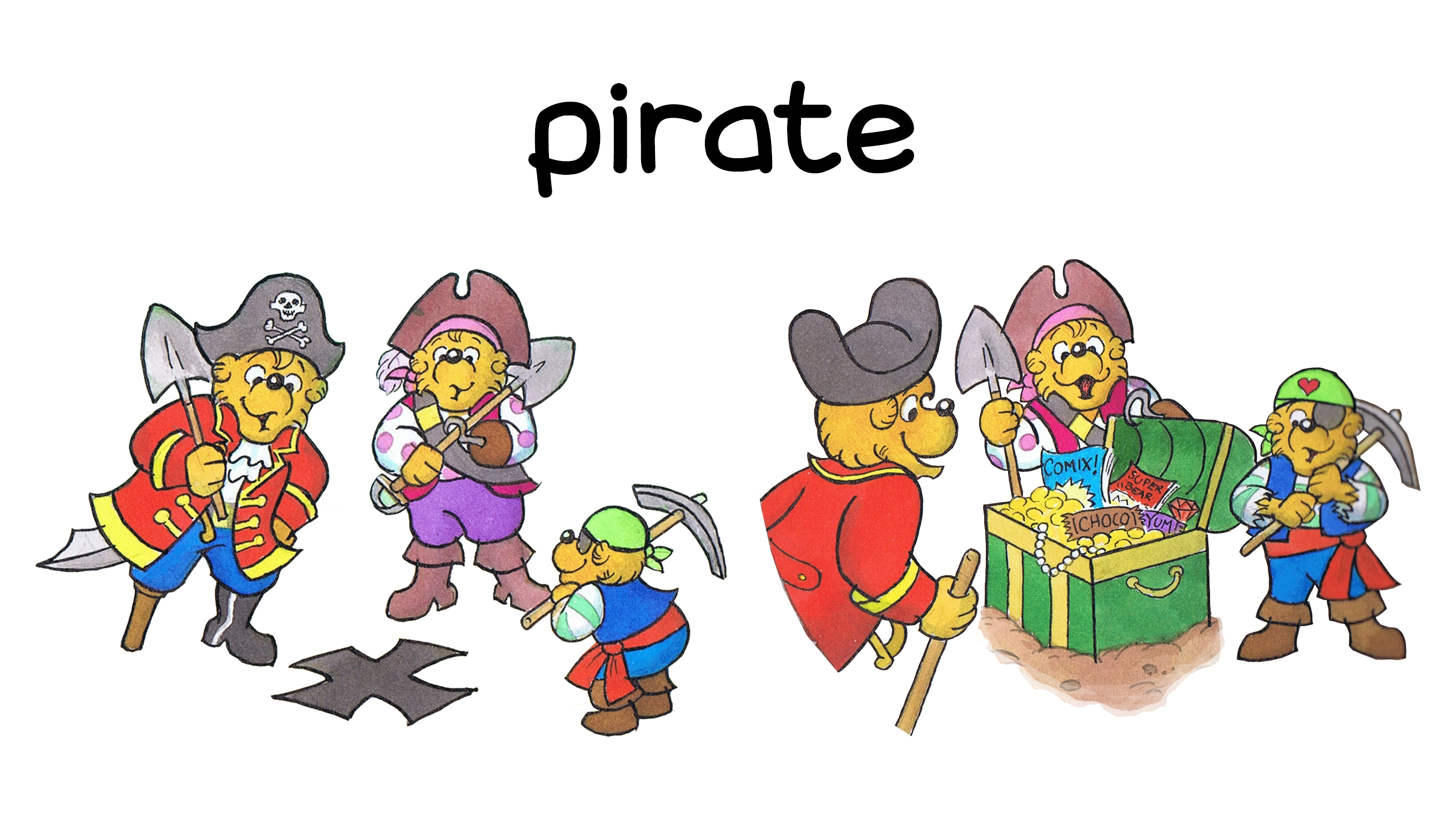 Berenstain Halloween Costumes Pirates