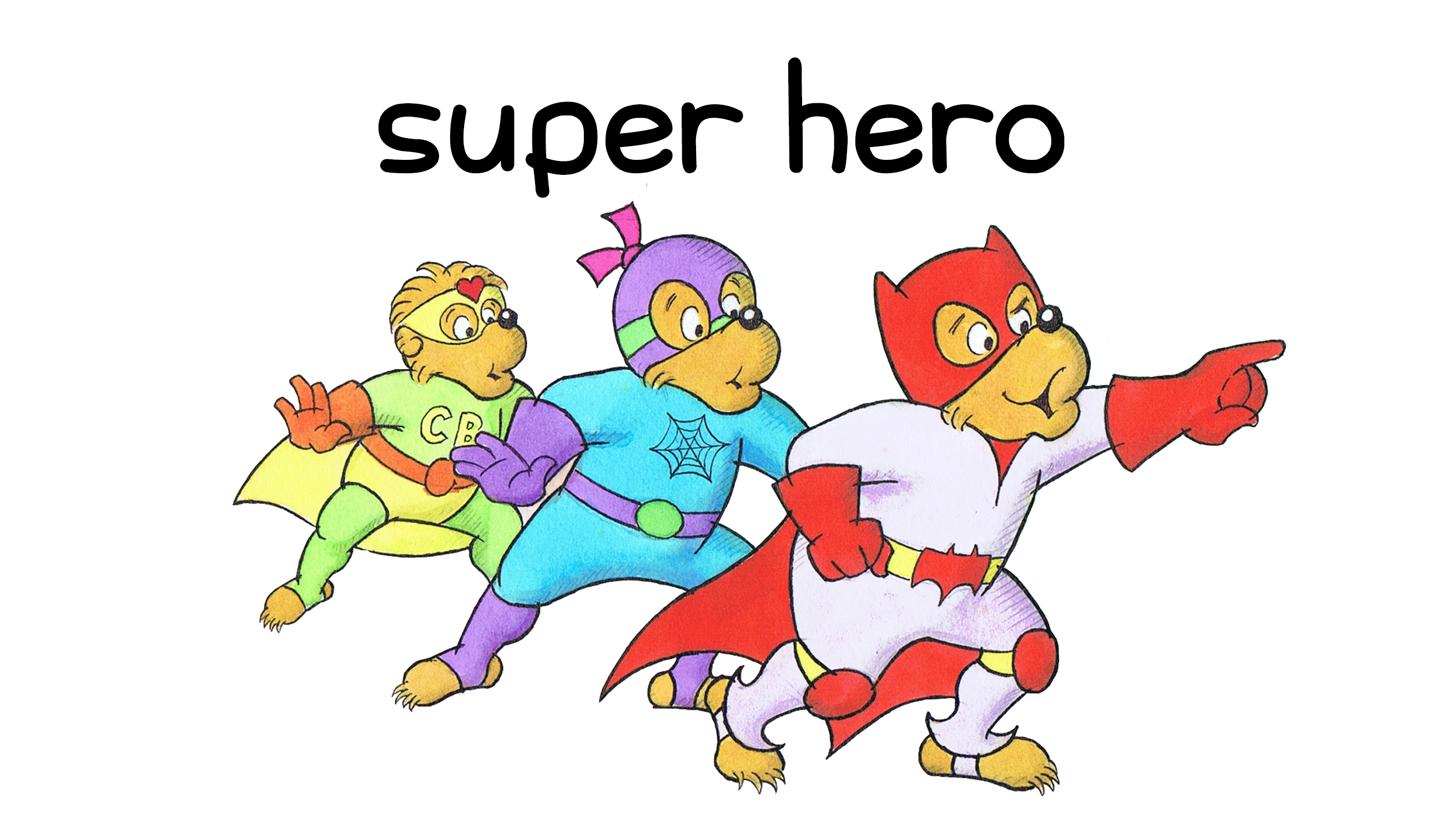 Berenstain Halloween Costumes Super Hero