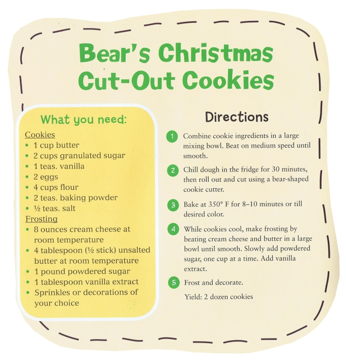 Christmas cookies instructions