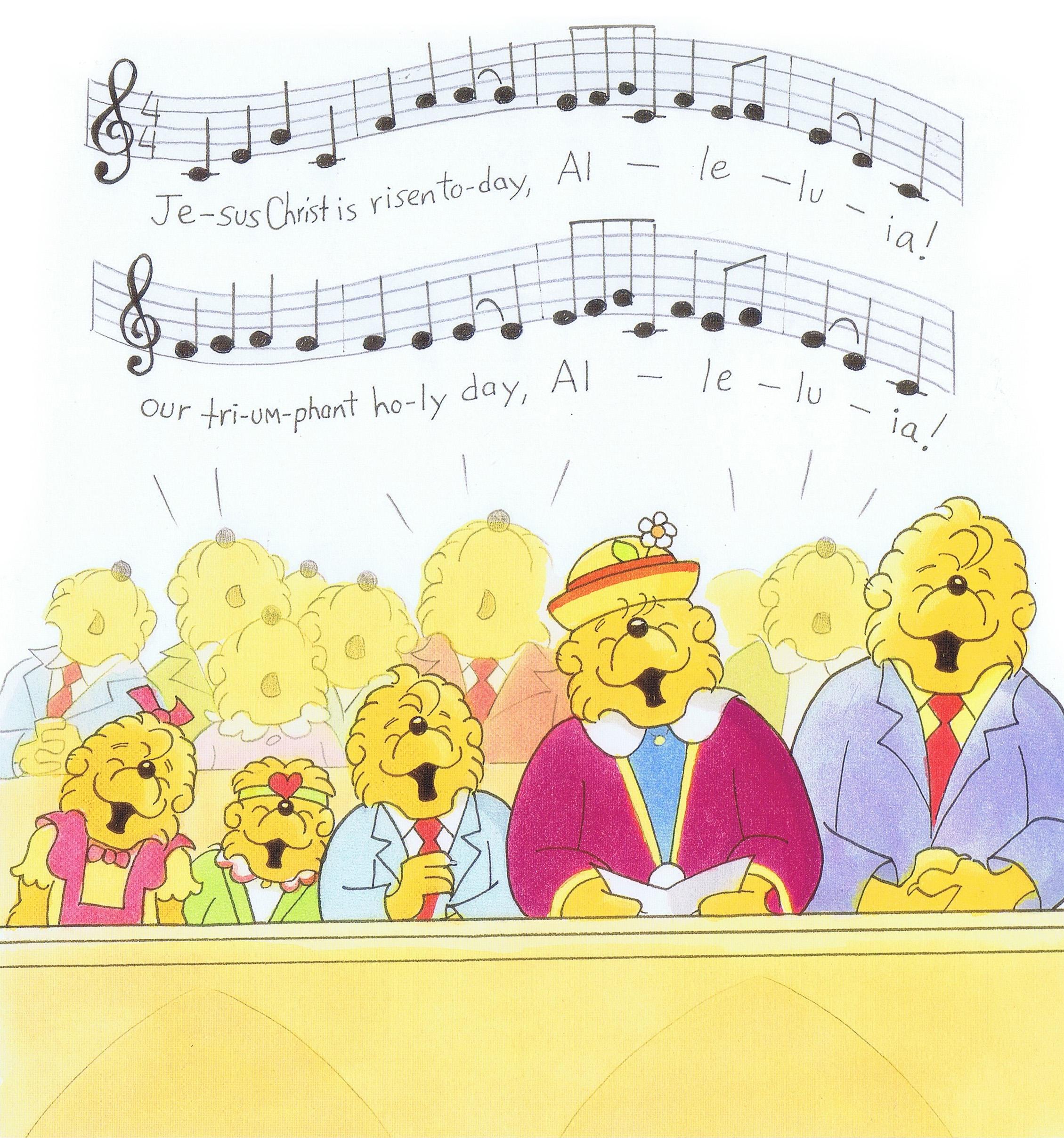 bears singing
