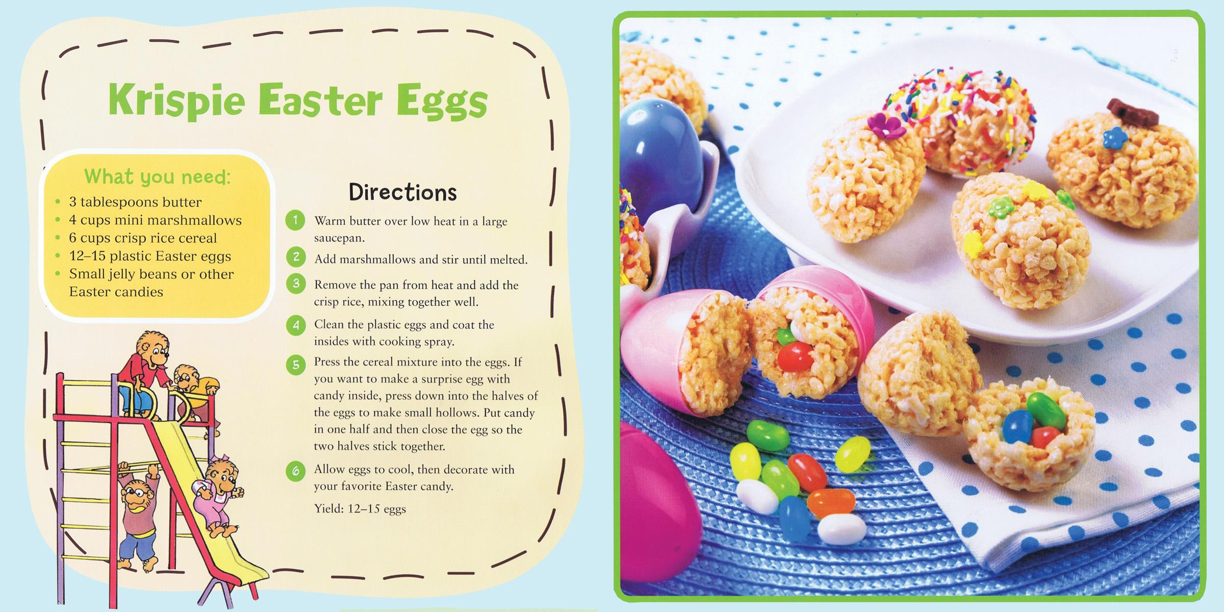 Krispie Easter Eggs